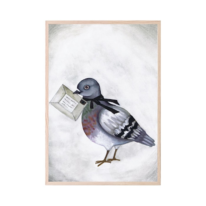 Poster Love Dove Letter 30x40cm