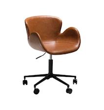 Kontorsstol Gaia - Vintage Ljusbrun