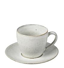 Kaffeetasse Nordic sand 15 cl