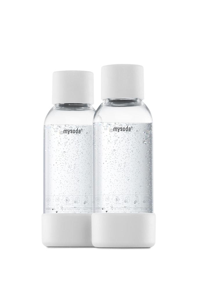 0,5 L Flaske 2-pakning Hvit