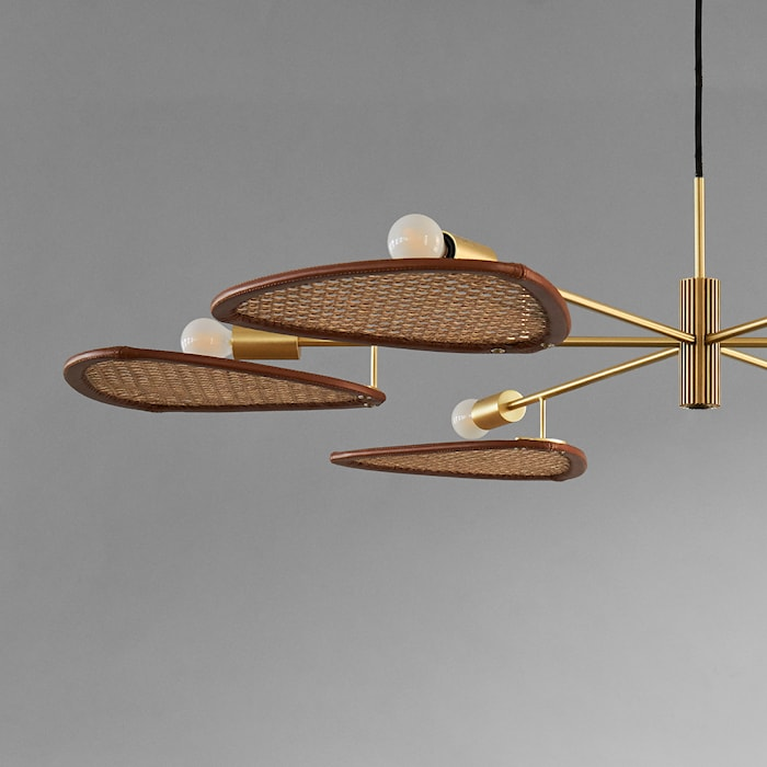 Papillion Lamp Colonial