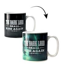 Harry Potter Värmekänslig Mugg the Dark Lord Shall Rise