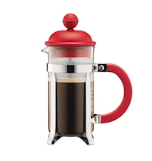 Caffettiera French Press für 3 Tassen Rot