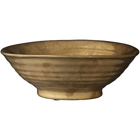 Dekorationsskål Dalianna Guld