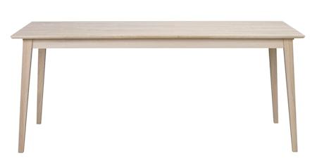 Filippa Matbord Vitpigmenterad Ek 180 cm