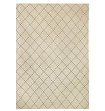 Diamond Dhurry Matta Ull Grå/Off white 230x336 cm