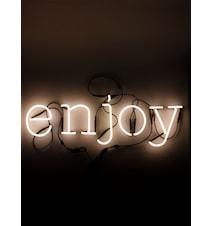 Neon art - Enjoy