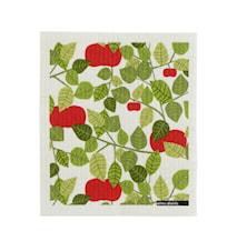 Apple Karklud Grøn 18x20 cm
