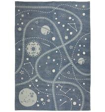 Little Galaxy Matto Sininen 100x140 cm