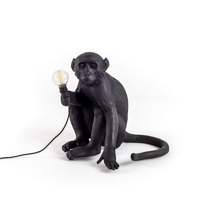 Monkey Valaisin Outdoor Sitting - Musta