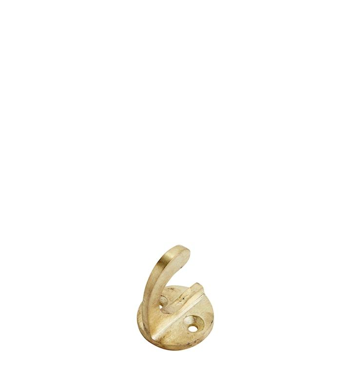Koukku raudasta 4 cm - Kulta