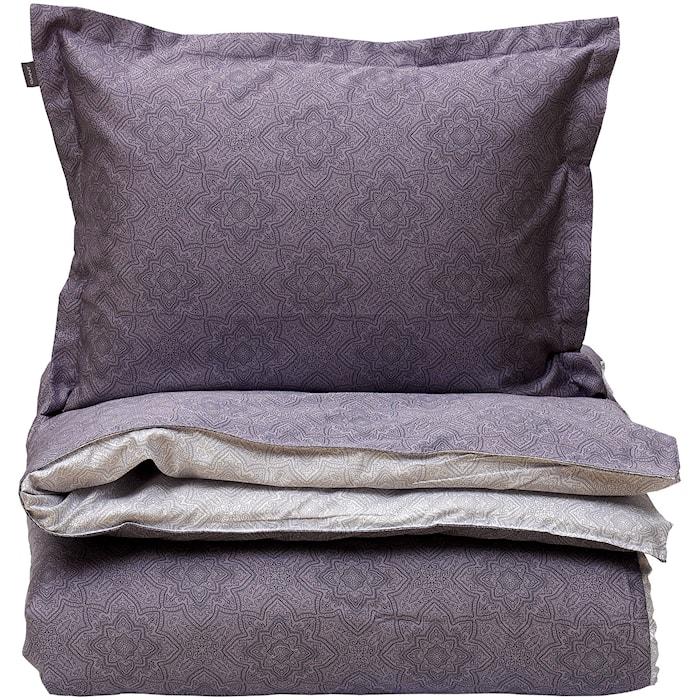 Noa Påslakan dubbel 220x220 Dim purple