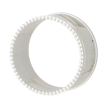 Servettring 4 st Zinc Alloy – Silver