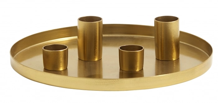 Ljusfat Golden Tray Small