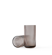 Vase Munnblåst Glass Smoke/Brun 20,5 cm