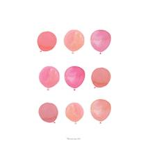 Affisch Balloons