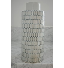 Ginza keramikburk – Indigo, large