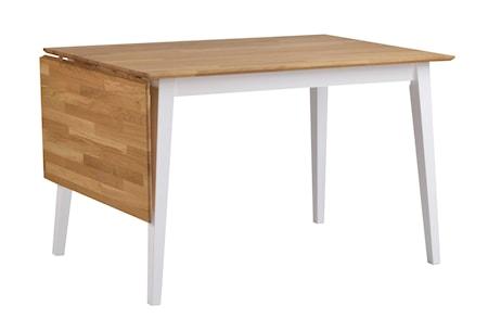 Filippa Klaffbord Ek/Vit 120 cm