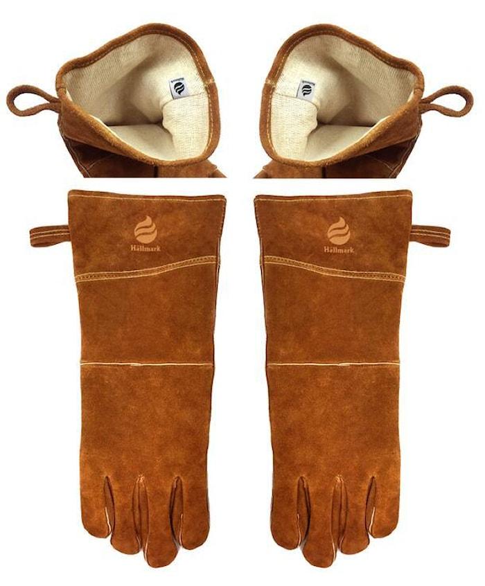 Grillhandskar Läder