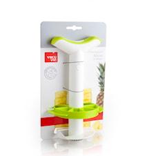 Ananasskärare med Tärnare Plast Vit