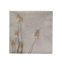 Napkins Grass 2 Light Grey