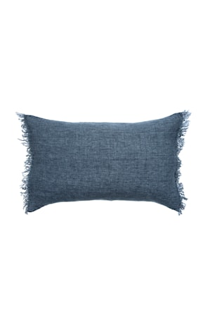 Pude Levelin 40x60 cm - Blå