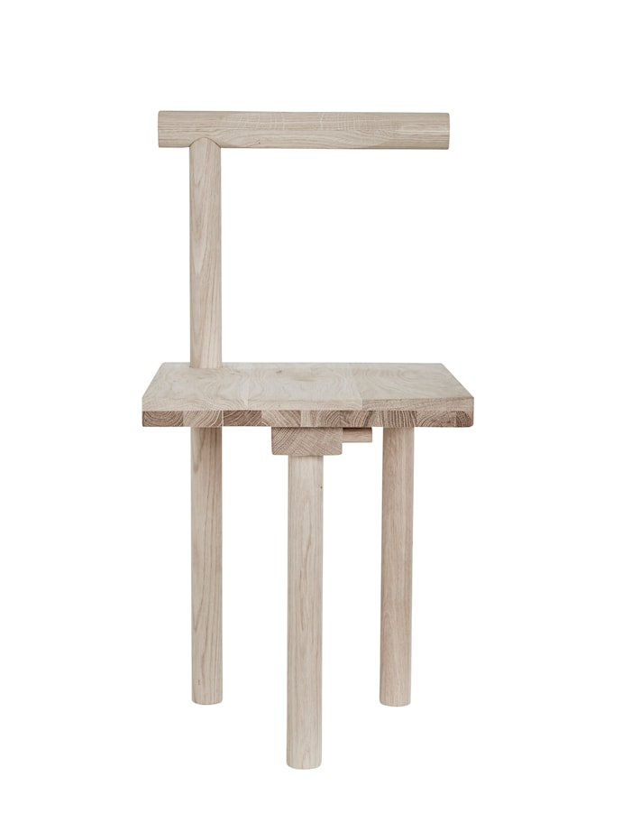 Kristina dam skulptur stol