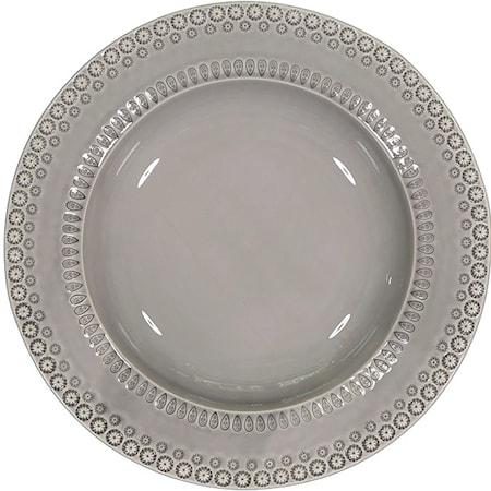 DAISY Pastatallrik Soft Grey 35 cm