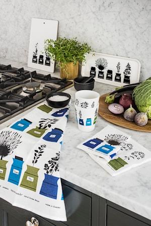 Persons kryddskåp Muggar Blå 2-pack