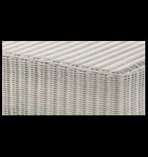 Cube footstool pall - Hvit