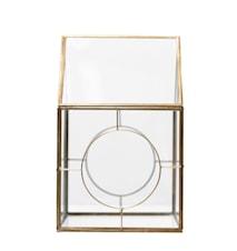 Ljuslykta Auria 33 cm Guld