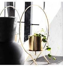 Kynttiläteline Circle Brass 40 cm
