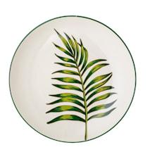 Moana Plate Stoneware Multicolored 25cm