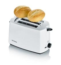 Leivänpaahdin 2 siivua, musta/valkoinen, 700W