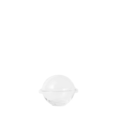 Chapeau Godteriskål Munnblåst Glass Klar Ø12,5 cm