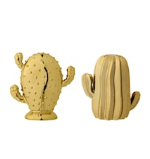 Kaktus Stengods Guld 2 Sorter