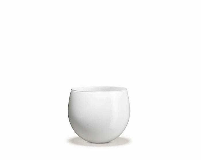 Cocoon Urtepotteskjuler, Hvid, H 14,7 cm
