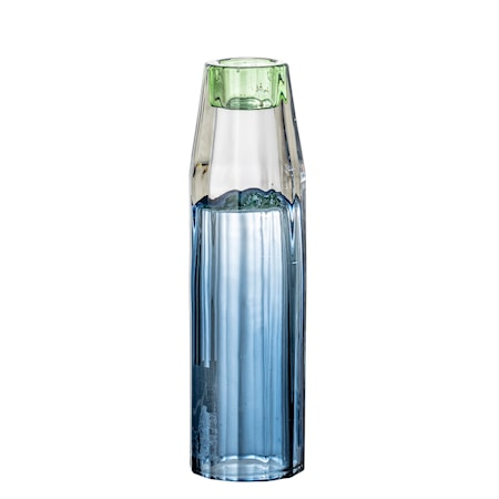 Ljusstake Glas Blå