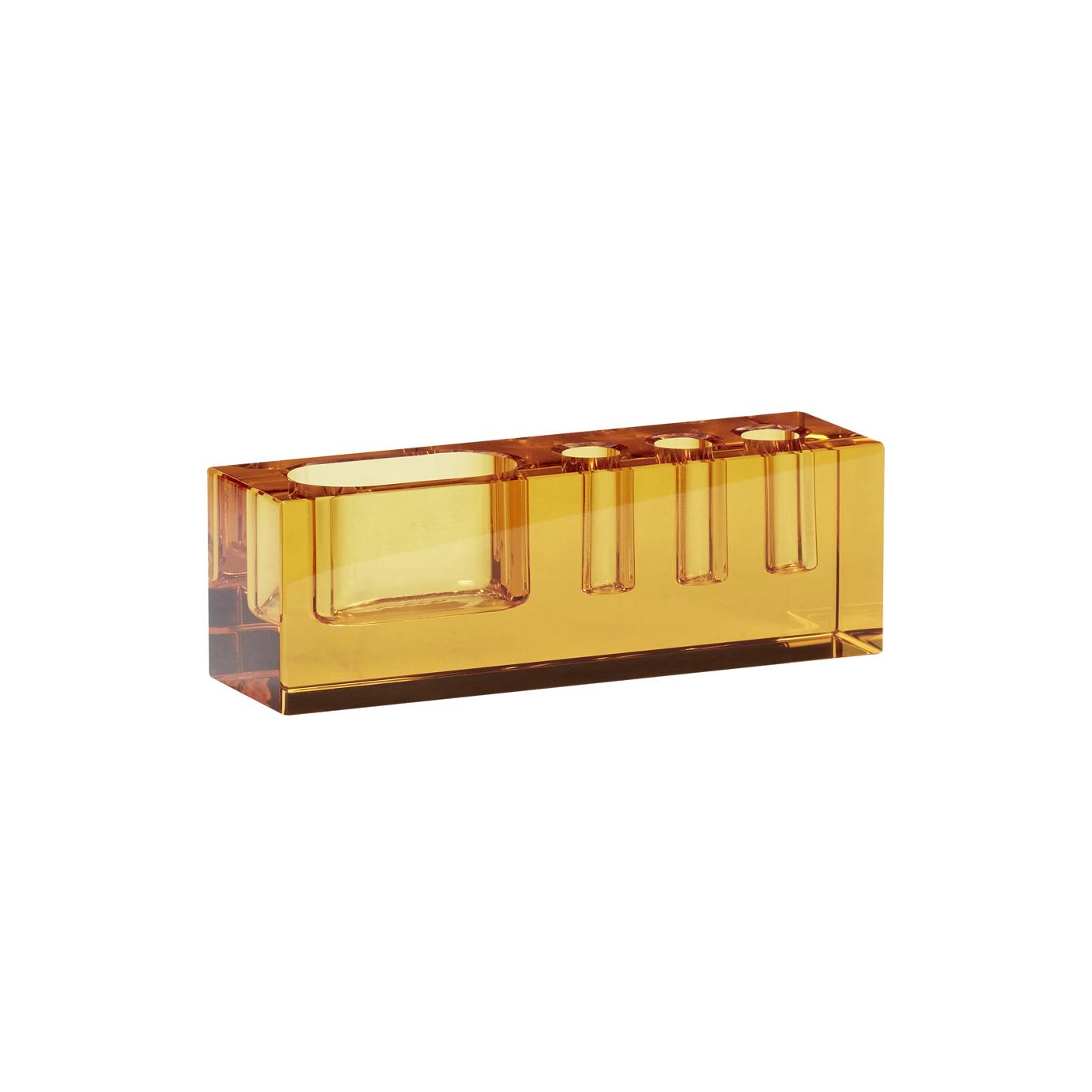 Skrivbords Organisering Glas Amber