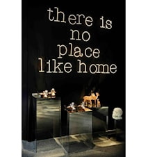 Neon art - There is no place like home