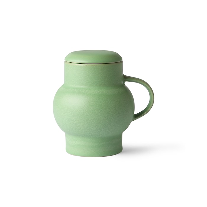 Bubble Ceramic Tekop L Mint Green