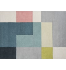 Tetris Matta Lime 170x240 cm