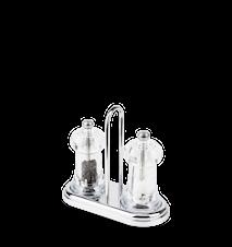 Brasserie Salt- & pepperkvern Akryl 11 cm