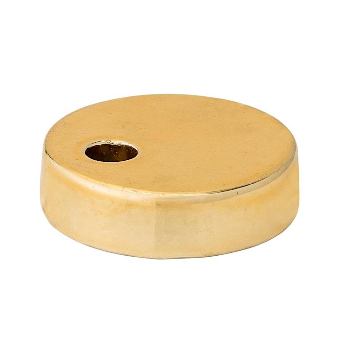 Kynttilänjalka Kulta Kivitavaraa 6,5 cm