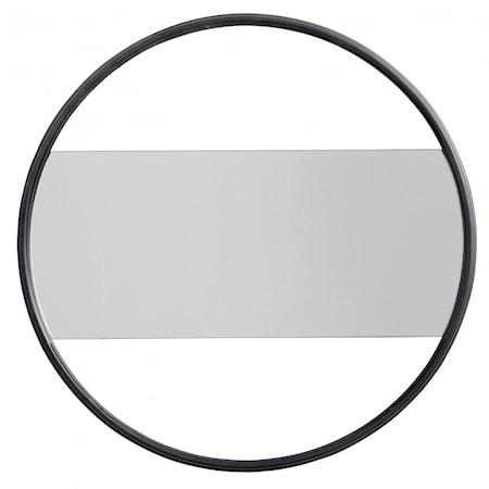 Spegel Iron Mat black