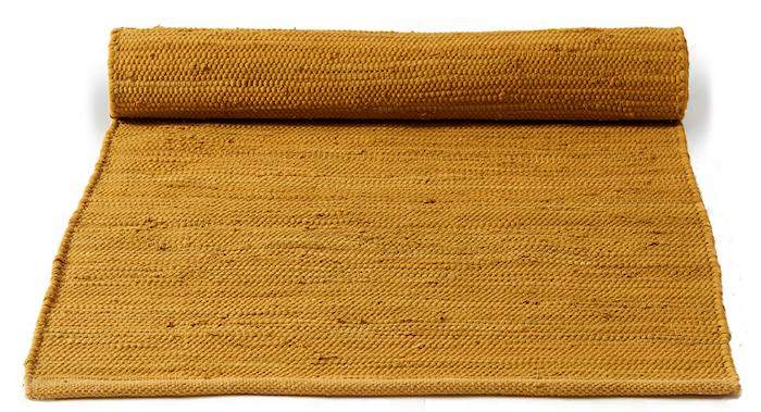 Cotton matta - Burnished amber, 140x200