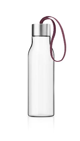 Dricksflaska 0,5 l - Dark Burgundy