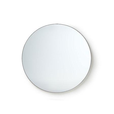 Rund Spegel Metall ram 80 cm