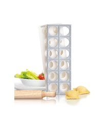 Ravioli Mold with Rolling Pin