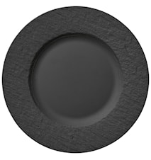 Assiette plate Manufacture Rock 27 cm